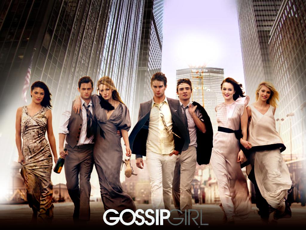 Gossip Girl - Eu gosto de Gossip Girl. Mas eu assisto no YouTube, não tenho paciência pra procurar na internet. Então eu só assisto pedaços de cenas, acaba que eu não vejo nenhum episódio inteiro