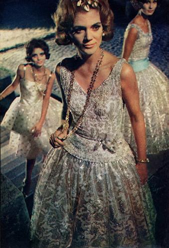 Vera na revista Elle em 1961