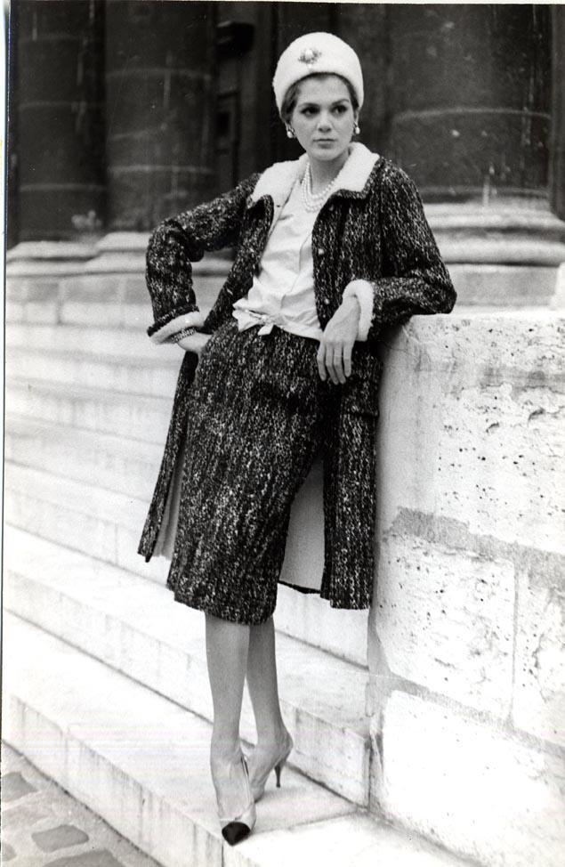 Vera de Chanel para a Vogue em 1962