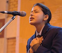 slam poets in Kathmandu