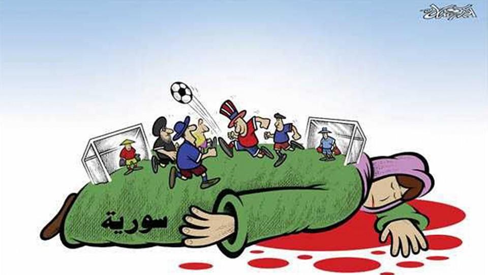 """Syria"", de Akram Raslan"