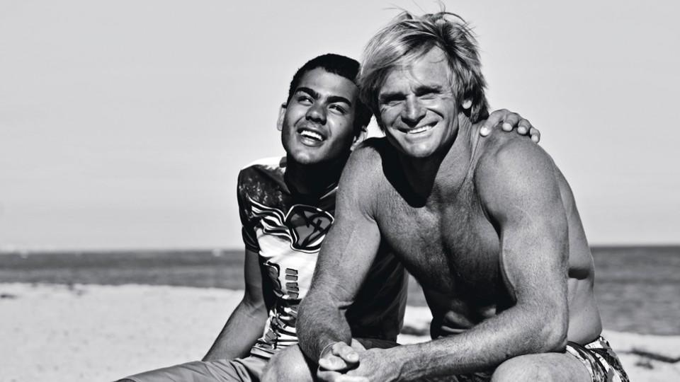 Ao lado de Laird Hamilton, outro gigante do surf