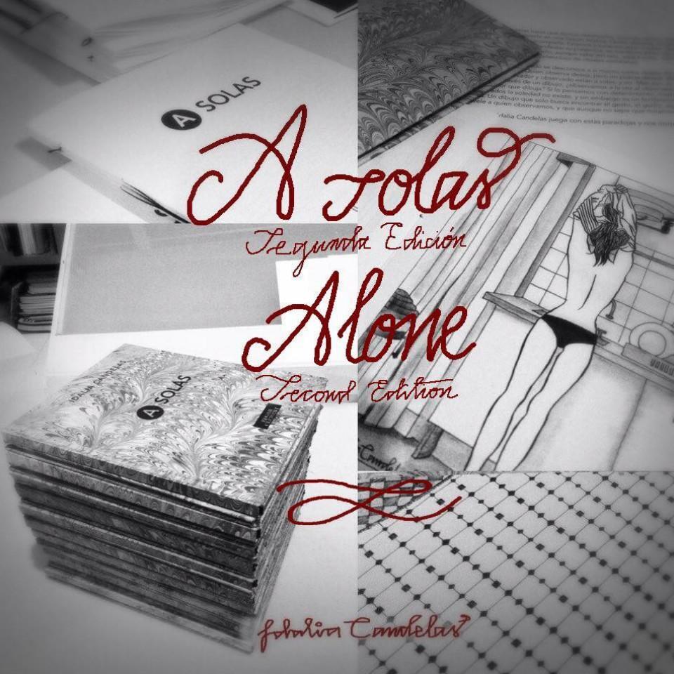 """Livro """"A solas"""", da mexicana Idalia Candelas"""