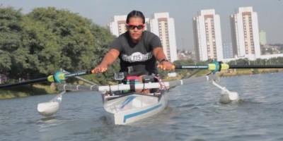 Atleta paralímpica Cláudia Santos