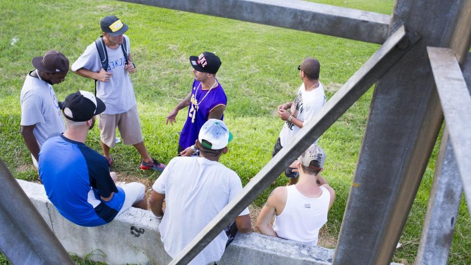 Crew da Shock Sul Funky no Morro da Brisa