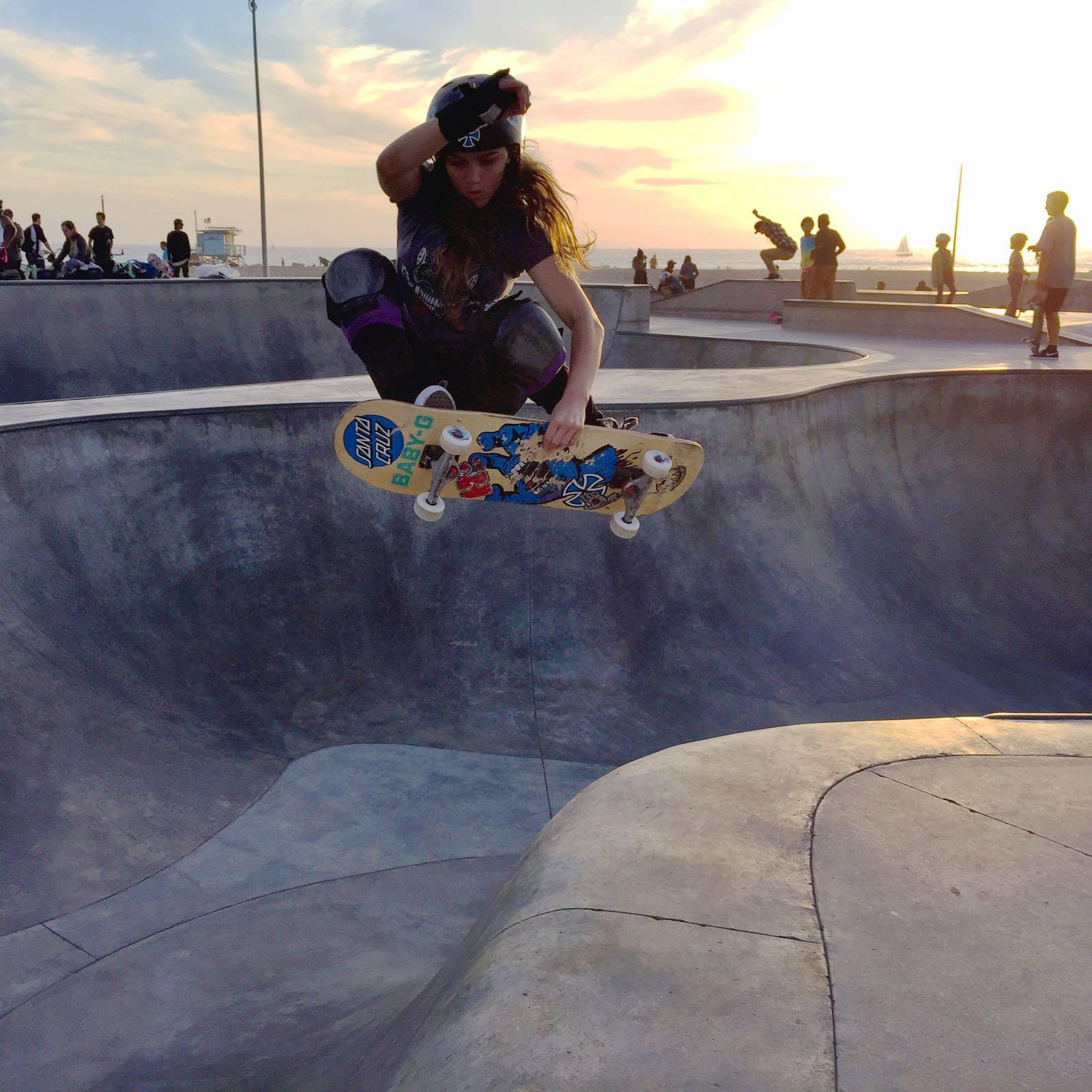 Em Venice Beach, Califórnia