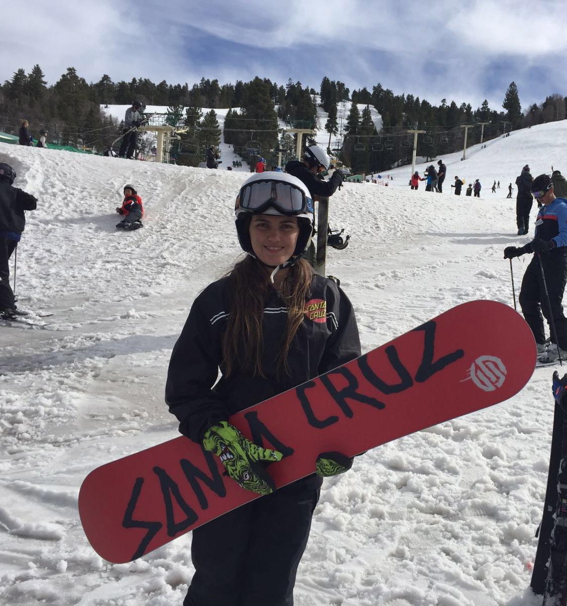 """""""Conhecendo a neve e snowboard!"""""""
