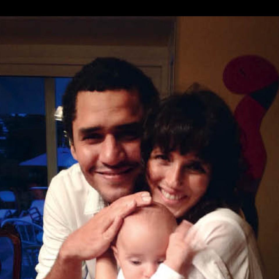 Com Bruno e Manoela no último Ano Novo