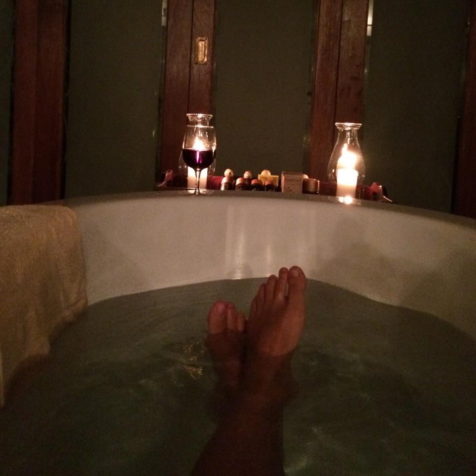 """""""Meu banho de banheira antes da dor"""""""