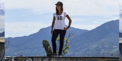 A menina de ouro do skate brasileiro