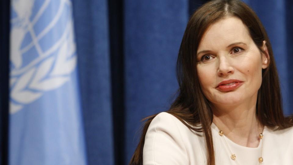 Entrevista coletiva na ONU Mulheres, em 2010
