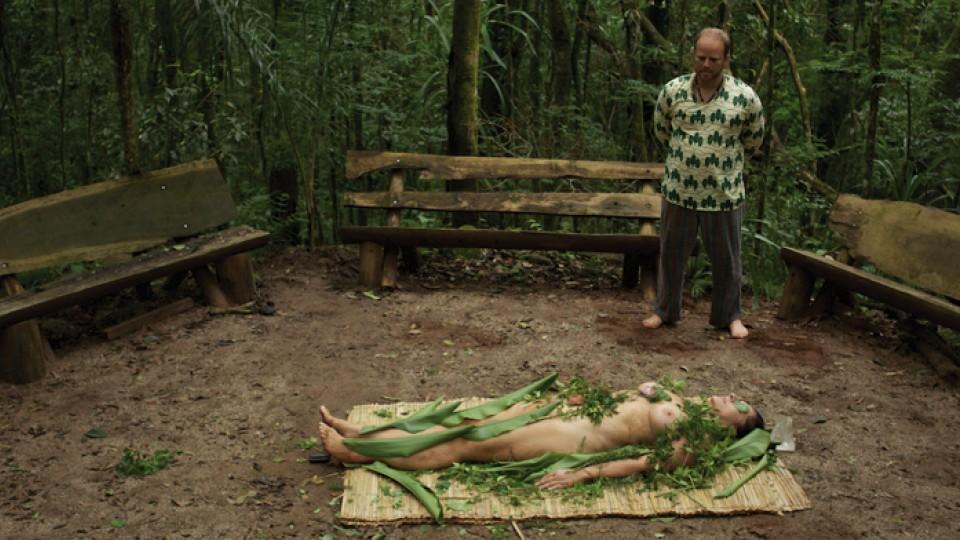 Ritual xamânico em Curitiba