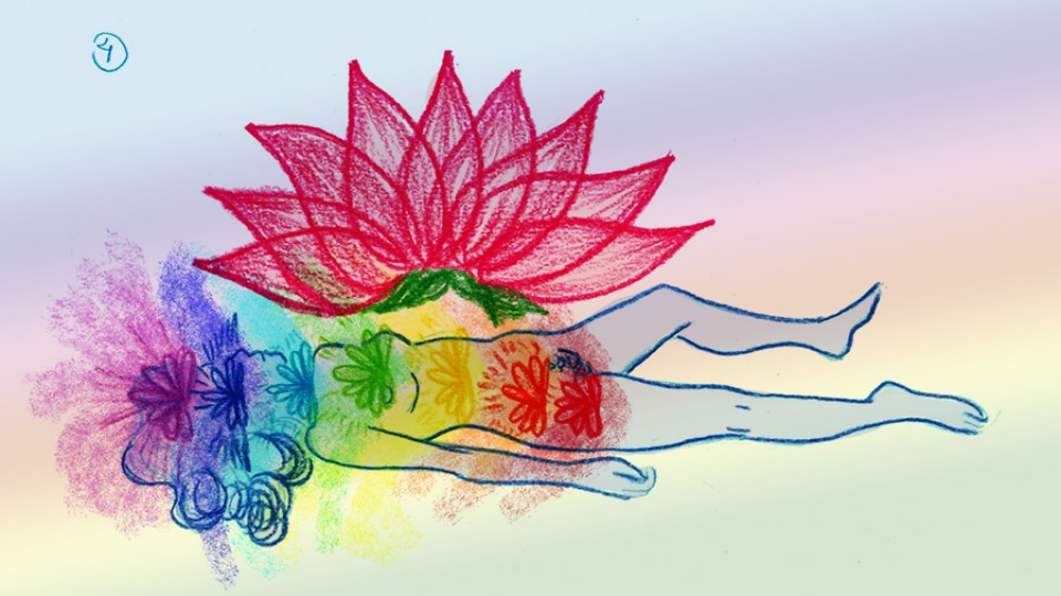 Quando você precisar respirar novamente, solte todo o ar e relaxe seu corpo totalmente. Respire naturalmente e observe a energia que você movimentou.