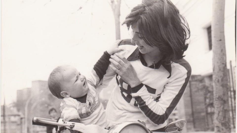 1977, Sevilha. Juanjo e Pilar.