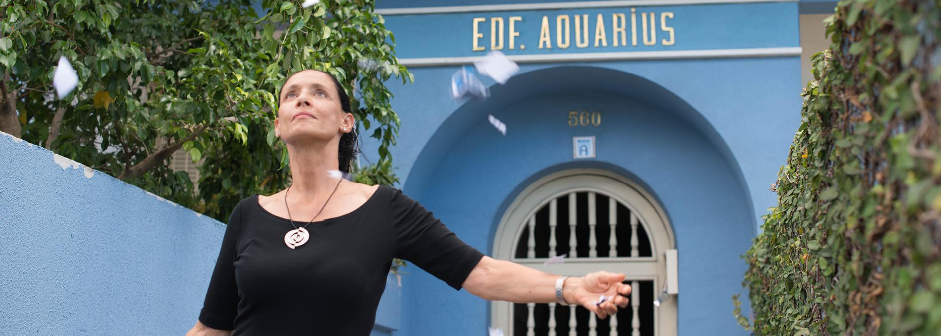 Sônia Braga: Aquarius é um dos filmes mais bonitos que já fiz