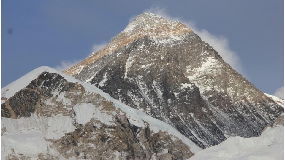 O cume da montanha