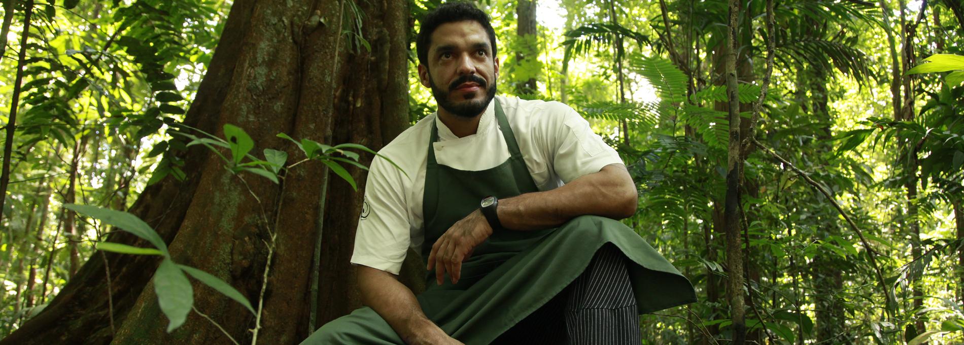 O chef Thiago Castanho fala sobre a culinária amazônica