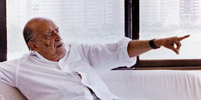 Entrevista com Oscar Niemeyer nas Páginas Negras