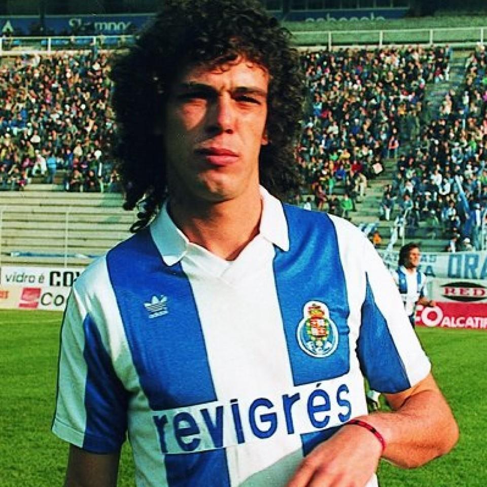 Campeão europeu pelo Porto, em 1986
