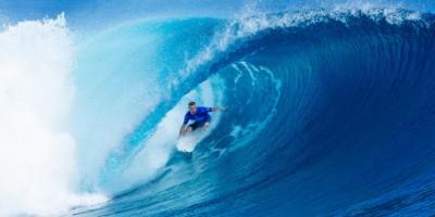 Taj Burrow se despede da carreira no surf em bateria histórica