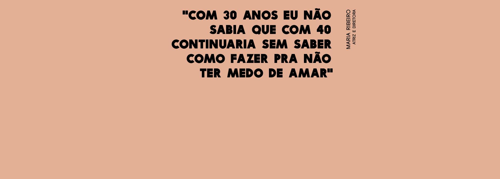 Maria Ribeiro fala sobre ter 30 anos