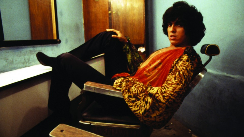 """Sidney Magal, num pique de Mick Jagger, nos camarins do filme Amante Latino, em 1979. """"Sou uma estrela de primeira grandeza"""""""