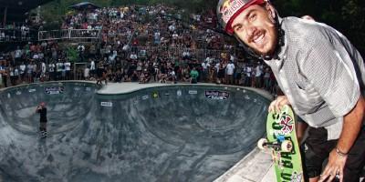 Pedro Barros no topo... de novo