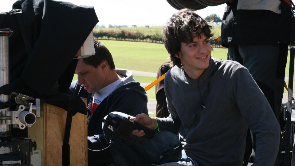Fernando Grostein Andrade, durante as gravações de 'Quebrabdo Tabu'