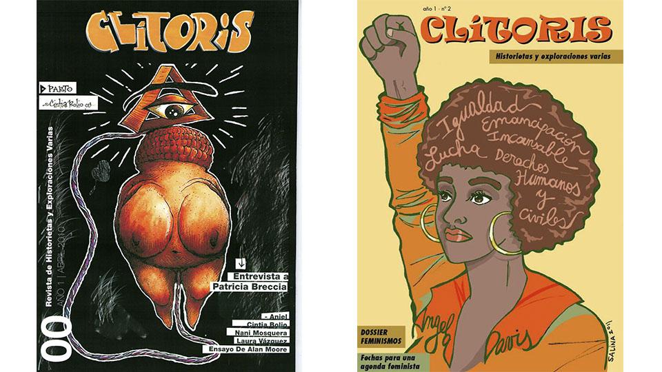 Revista Clítoris, edições #1 e #2