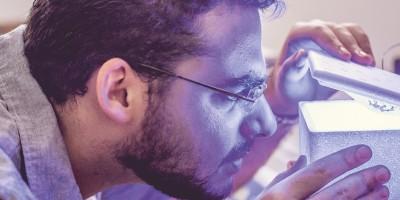 Uma ideia iluminada: Caio Rocco aposta na luz como cura medicinal