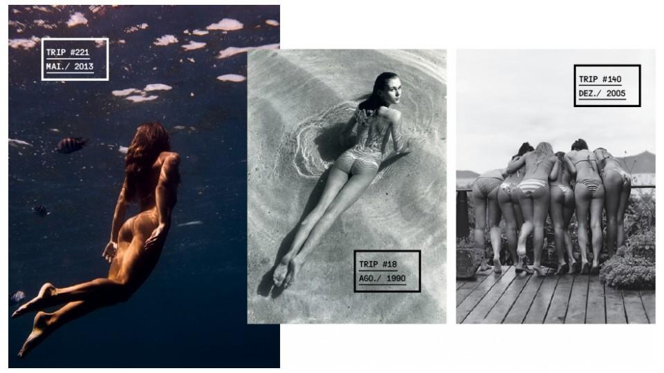 Da esq. p/ dir.: Julia Bernardi (#221); Danette Michel (#18); Funcionárias da Trip (#140)