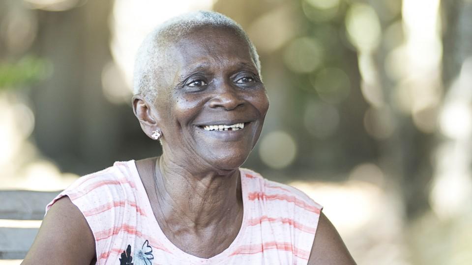 Dona Aidê, personagem do Museus Vivos