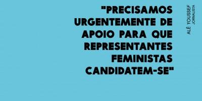 Por mais mulheres na política