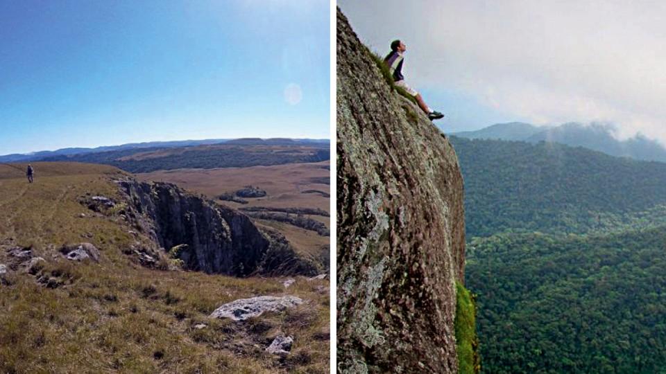 Renan Cavichi na trilha da Ferradura, em Paranapiacaba, e no Pico do Baepi, em Ilhabela