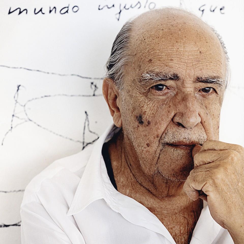 O arquiteto Oscar Niemeyer