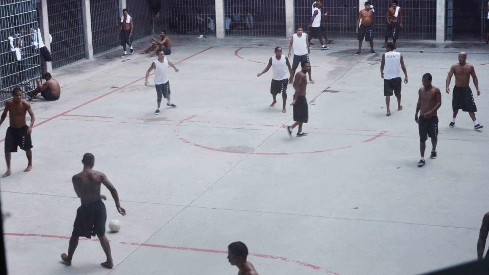O Complexo Penitenciário Público Privado (PPP), iniciativa pioneira do Governo de Minas no país, em Ribeirão Neves.