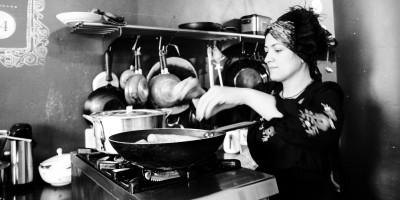 Uma cozinheira do bairro