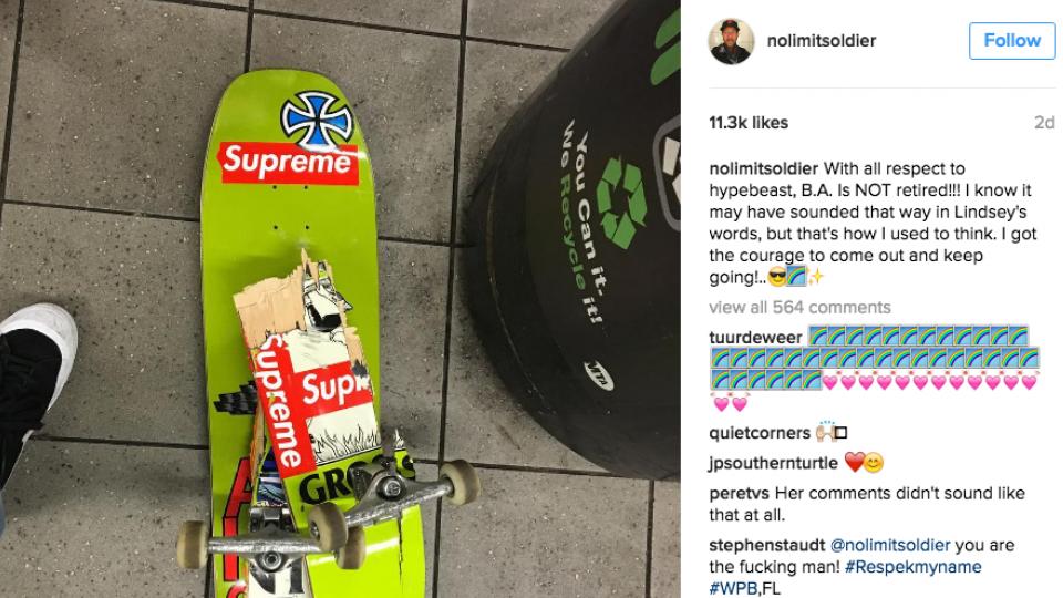 """No Instagram, BA manda a real: """"Eu saí do armário com força pra seguir em frente"""""""