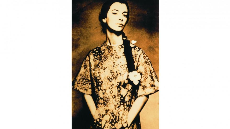 Danuza posa para ensaio fotográfico de Richard Avedon para a revista Harper's Bazaar, 1960