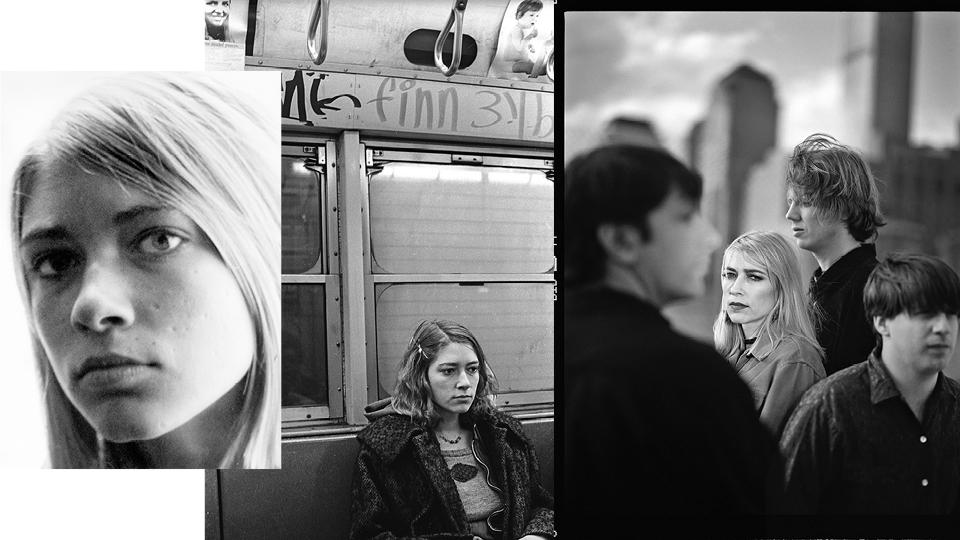 Fotos do miolo de A garota da banda (ed. Rocco)