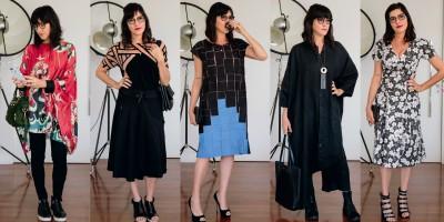 A semana de moda de Andréa Bisker