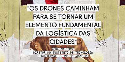Drones tomarão os céus, por Ronaldo Lemos