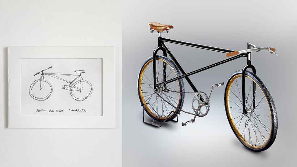 Bicicleta de Anna, 24 anos, estudante