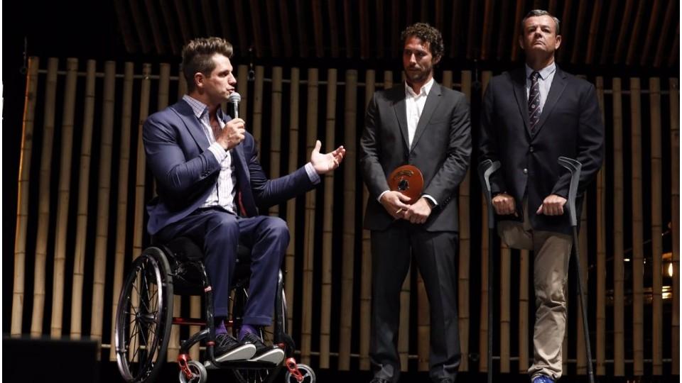 Fernando Fernandes, Flávio Canto e Lars Grael