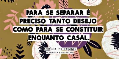 Sem mágoas ou amor, por Antonia Pellegrino