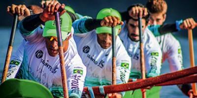 Equipe brasileira de canoa havaiana vence maior disputa da modalidade