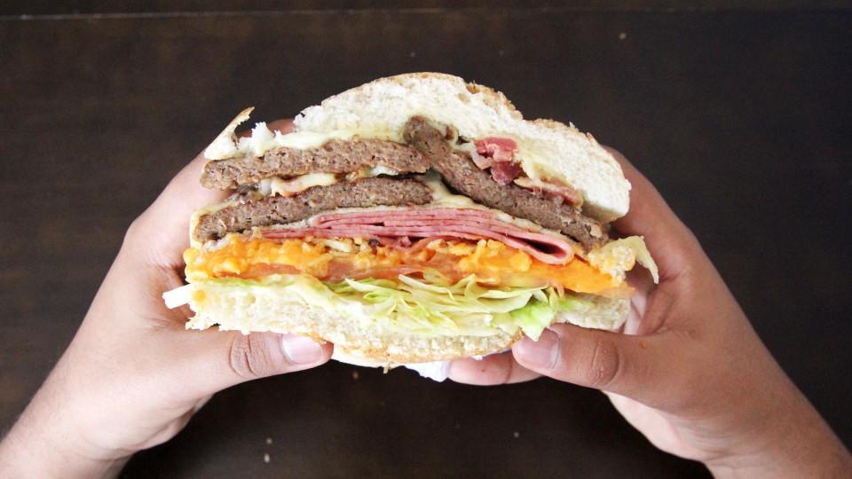 """Mary Hamburgueria, de """"noiz pra noiz"""", os pobre 'loko', uma boa hamburgueria que você vai se sentir bem  em Diadema"""