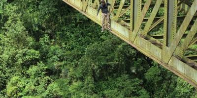 As pontes abandonadas mal-assombradas de Paranapiacaba