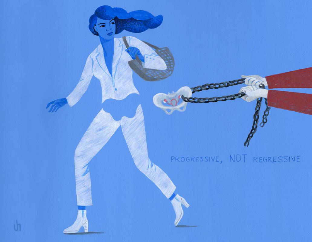 Ilustração de Jody Hewgill