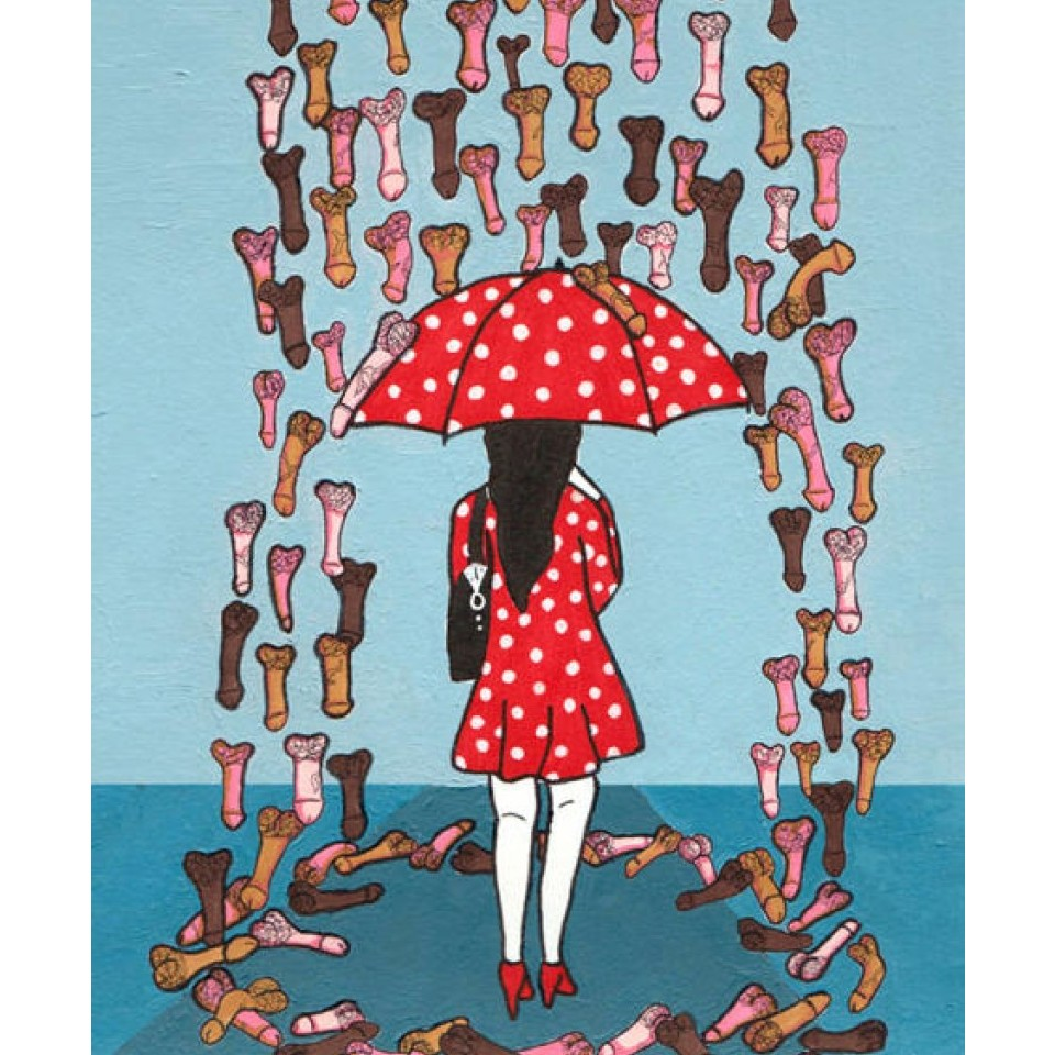 Ilustração de Ghazaleh Rastgar
